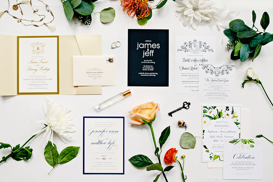 Cincinnati By Design Wedding Invitations Custom Designer Ohio